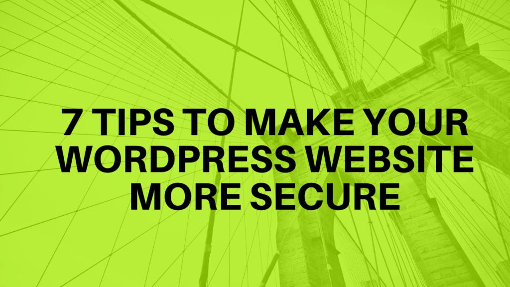 WordPress management services